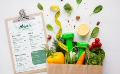menu reequilibrage alimentaire